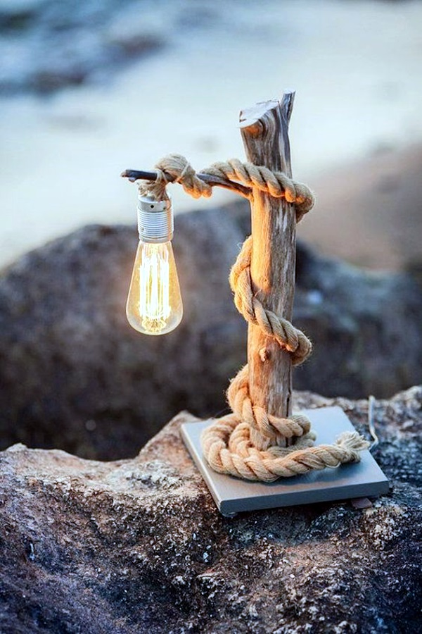 Beautiful Wooden Lamp Designs (@Home) (7)