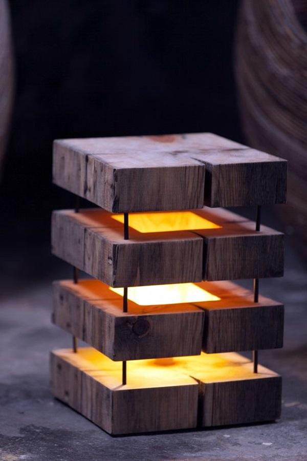 Beautiful Wooden Lamp Designs (@Home) (8)