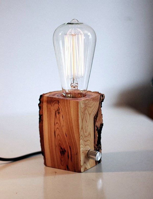 40 Beautiful Wooden Lamp Designs (@Home)