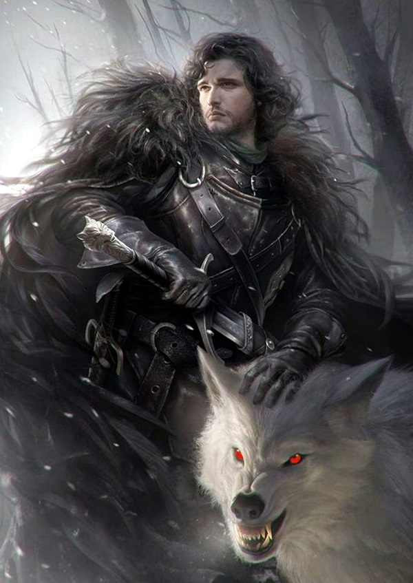 Best Examples of GAME OF THRONES ART (1)