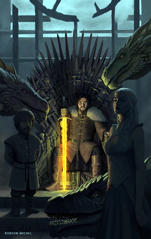 Best Examples of GAME OF THRONES ART (13)