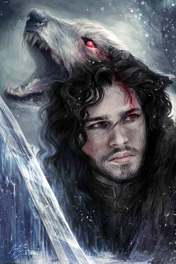 Best Examples of GAME OF THRONES ART (15)