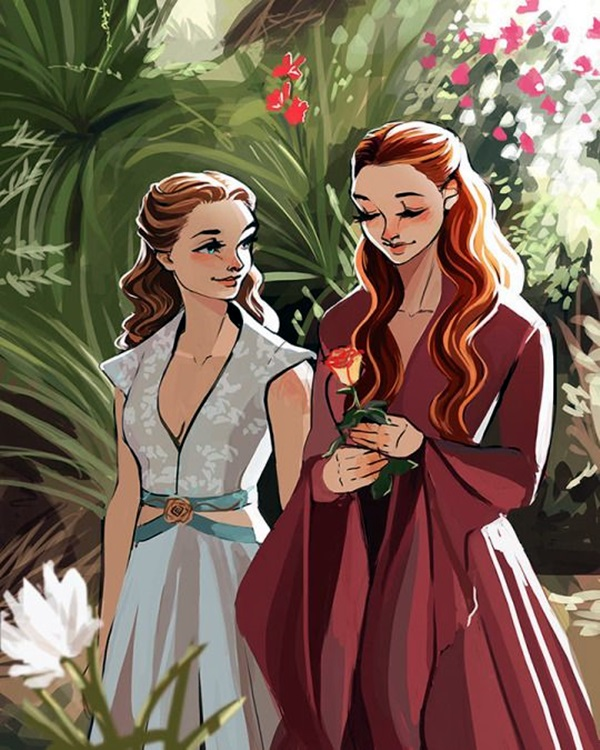 Best Examples of GAME OF THRONES ART (19)