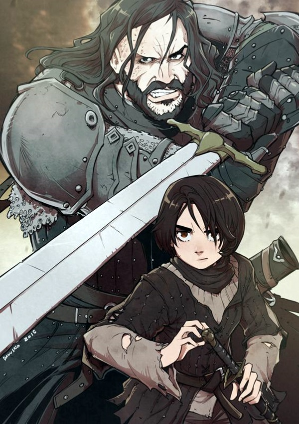 Best Examples of GAME OF THRONES ART (24)