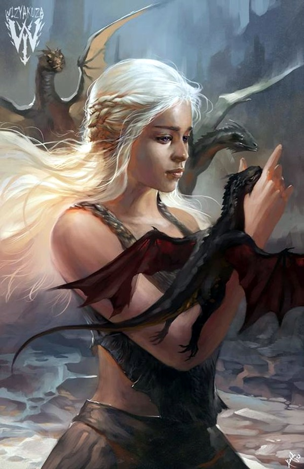 Best Examples of GAME OF THRONES ART (31)