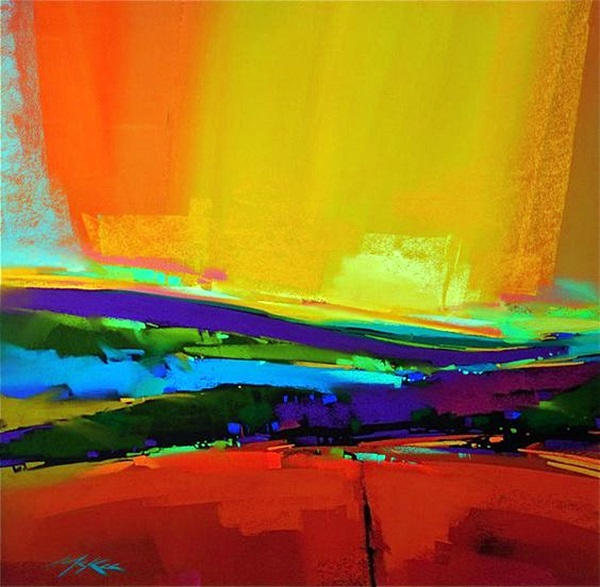 Brilliant Examples Of Color Field Paintings (12)