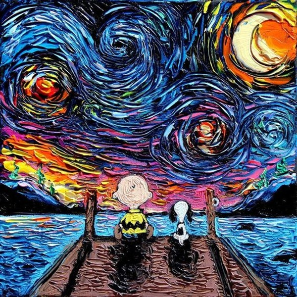 Classic And Modern Pop Art Painting Examples (10)