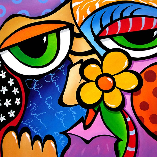 Classic And Modern Pop Art Painting Examples (13)