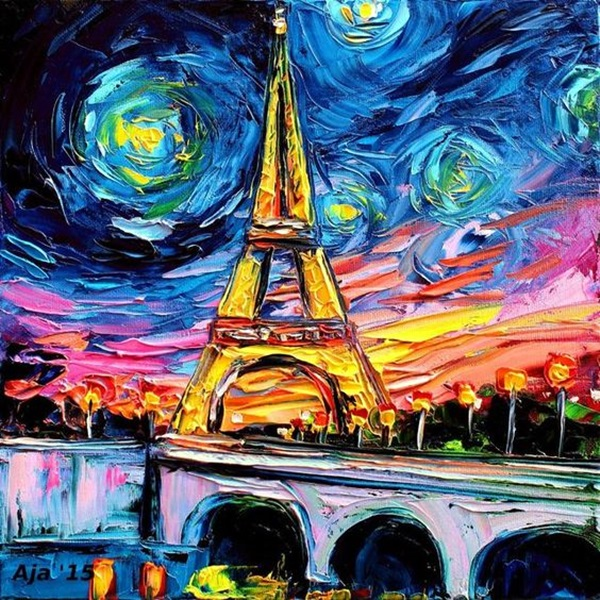 40 classic and modern pop art painting examples for Mural examples