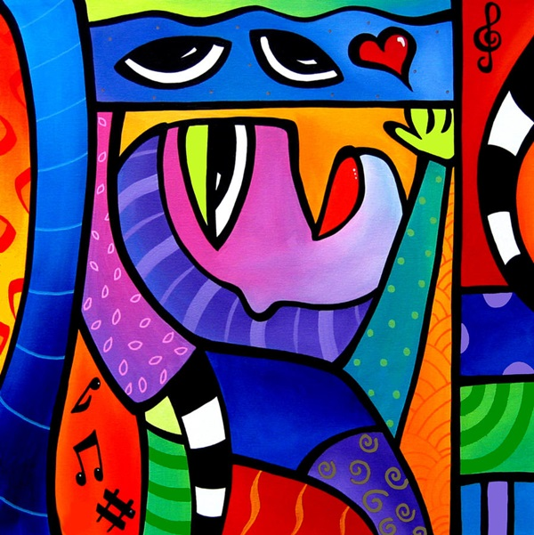 Classic And Modern Pop Art Painting Examples (27)