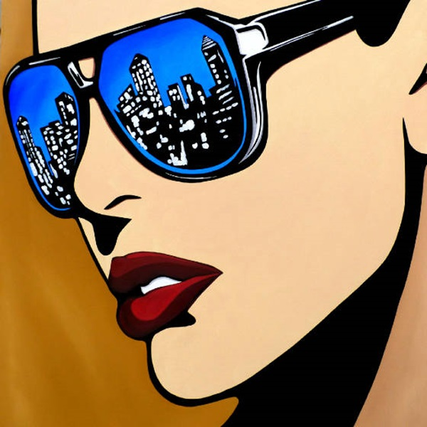 Classic And Modern Pop Art Painting Examples (33)