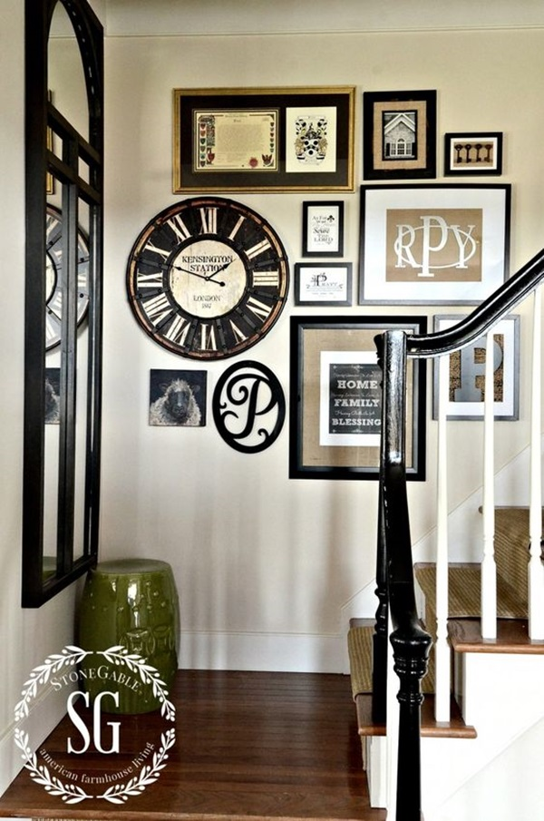 Creative Monogram Wall Art Ideas (14)