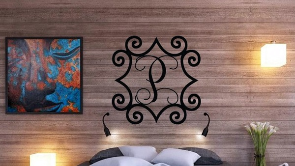 Creative Monogram Wall Art Ideas (17)