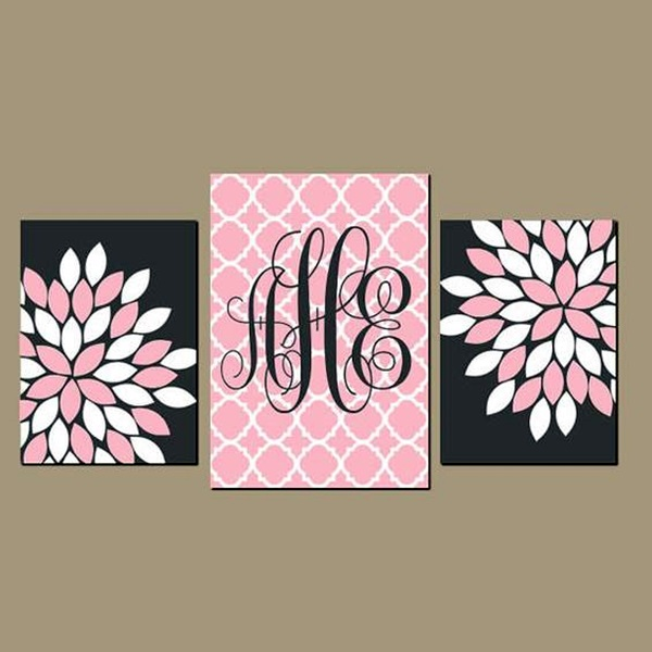Creative Monogram Wall Art Ideas (20)