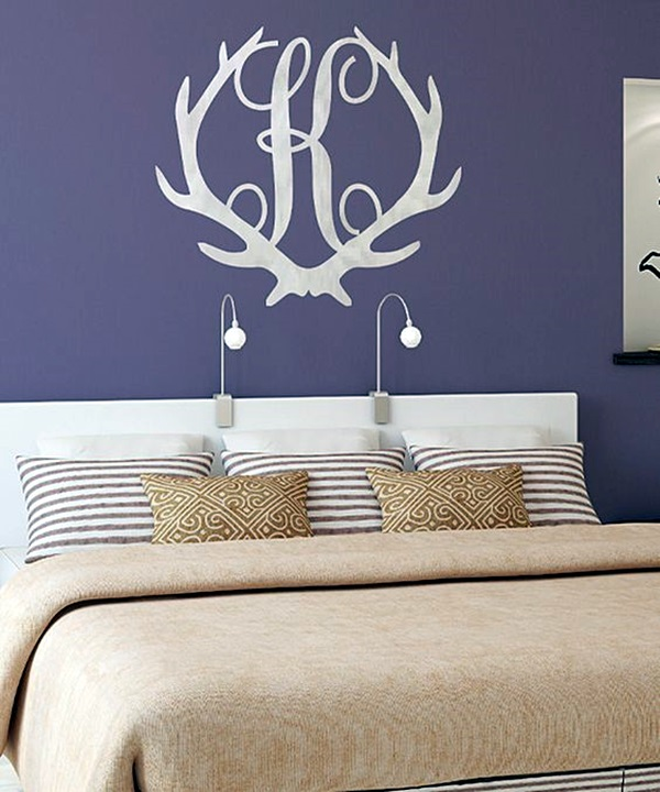 Creative Monogram Wall Art Ideas (24)