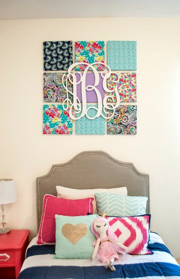 Creative Monogram Wall Art Ideas (34)