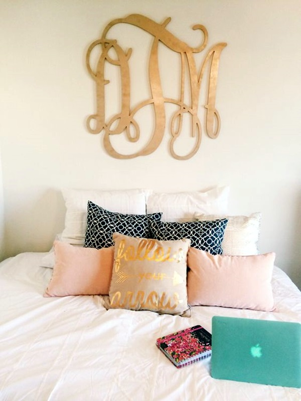 Creative Monogram Wall Art Ideas (9)