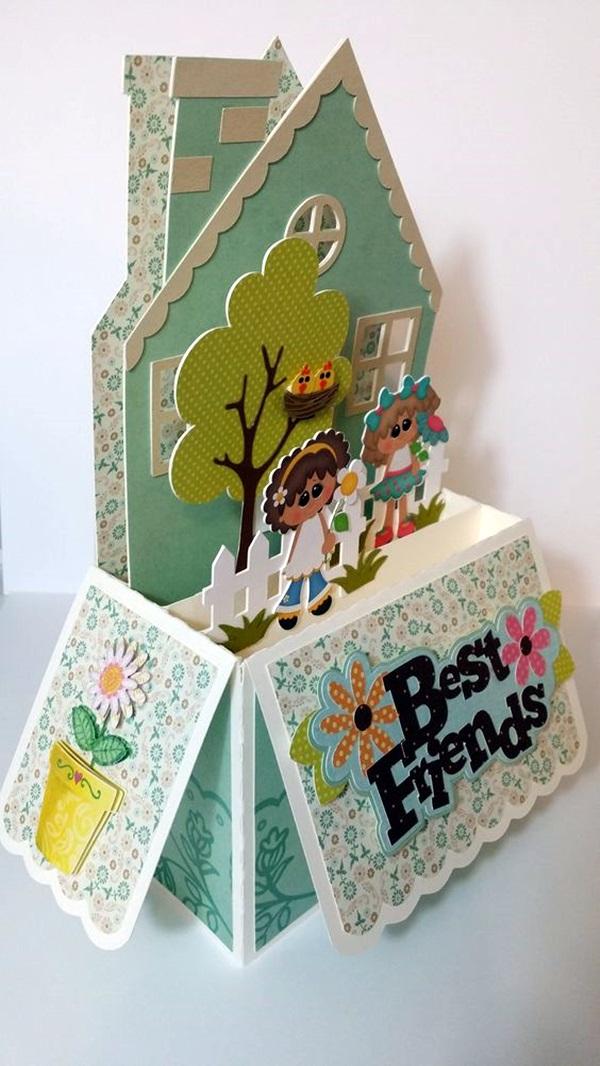 40 cute friendship card designs diy ideas