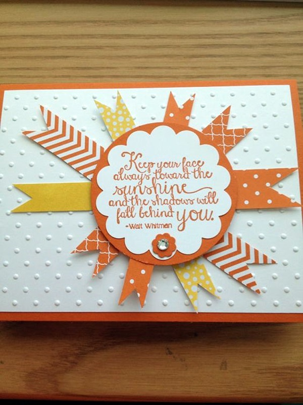 Friendship Card Making Ideas Part - 38: Cute Friendship Card Designs (DIY Ideas) (2)