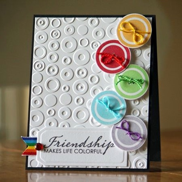 Amazing Friendship Card Making Ideas Part - 2: Cute Friendship Card Designs (DIY Ideas) (2)