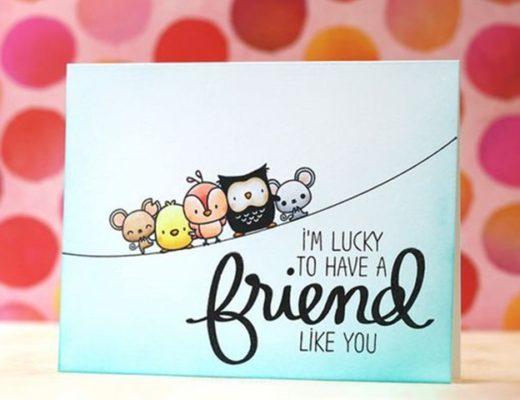 Cute Friendship Card Designs (DIY Ideas)