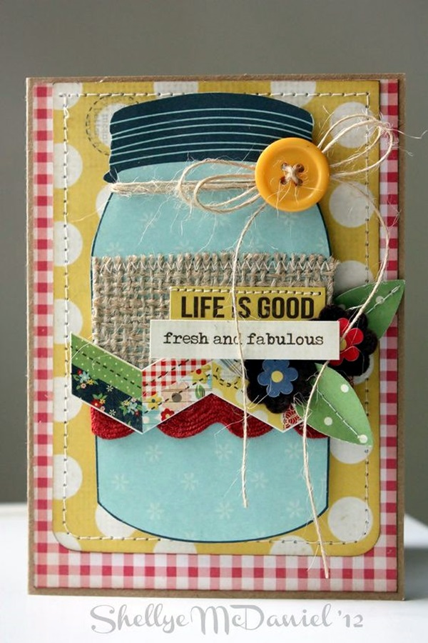 Cute Friendship Card Designs (DIY Ideas)  (6)