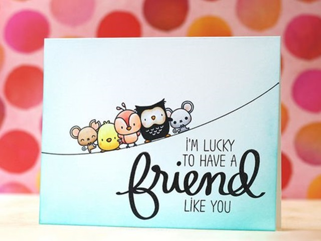 Awesome Friendship Card Making Ideas Part - 13: Bored Art