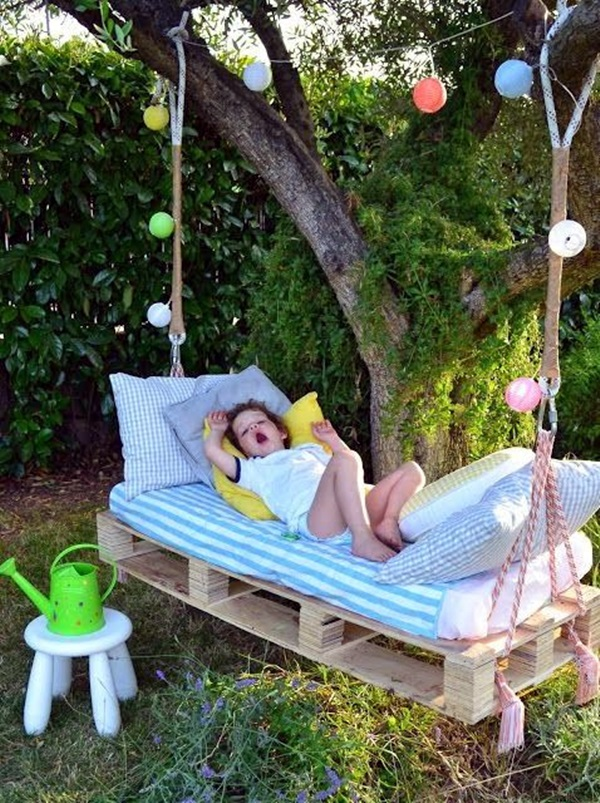 DIY Tree Swing Ideas For More Family Time (11)