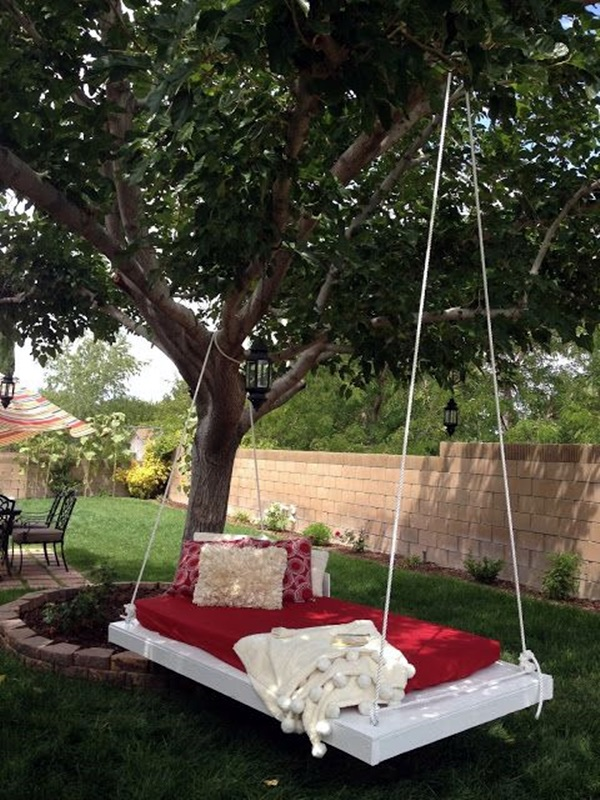 DIY Tree Swing Ideas For More Family Time (15)