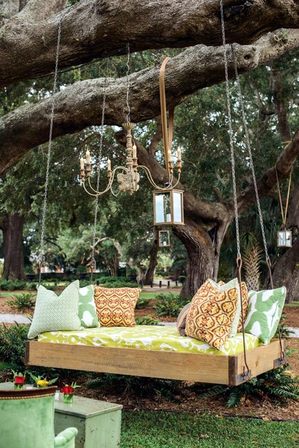 DIY Tree Swing Ideas For More Family Time (17)