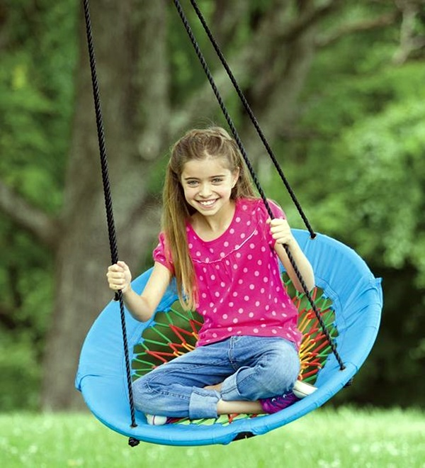 DIY Tree Swing Ideas For More Family Time (29)