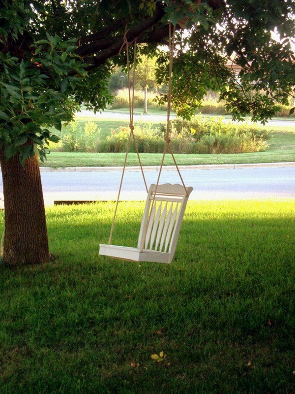 DIY Tree Swing Ideas For More Family Time (30)