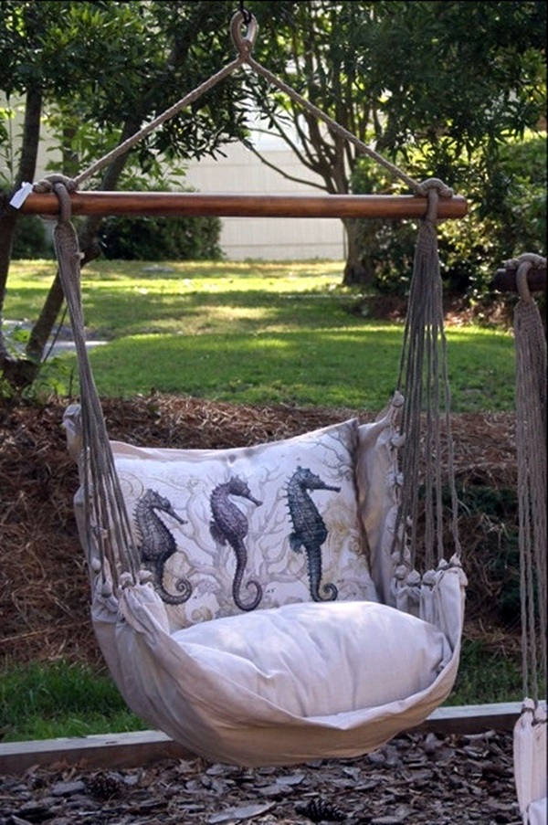 DIY Tree Swing Ideas For More Family Time (40)