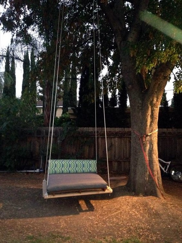 DIY Tree Swing Ideas For More Family Time (6)