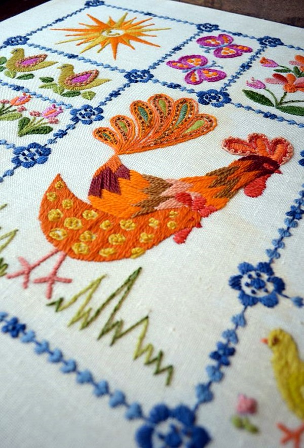 Excellent Applique Embroidery Designs And Patterns (37)