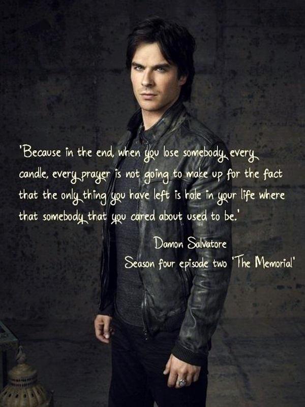 Exceptional Damon Salvatore Quotes (26)