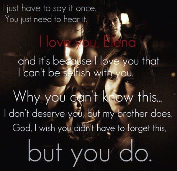 Exceptional Damon Salvatore Quotes (4)
