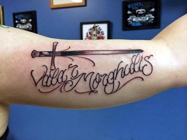 Fanciful Valar Morghulis Tattoo Designs (15)