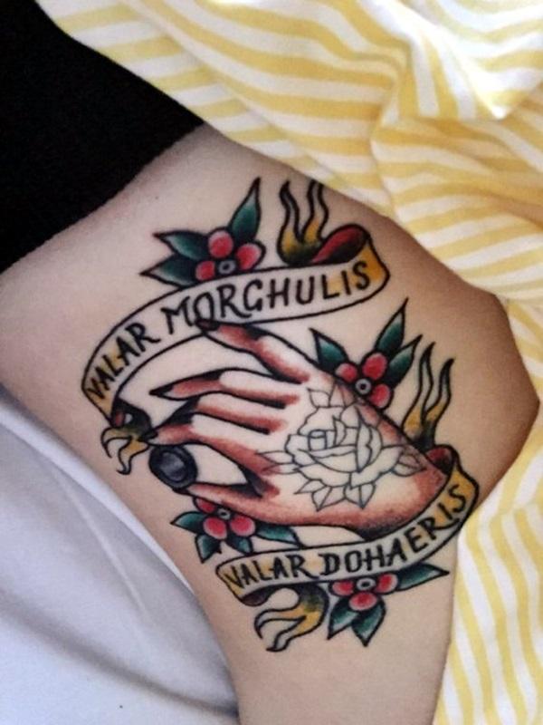 Fanciful Valar Morghulis Tattoo Designs (18)