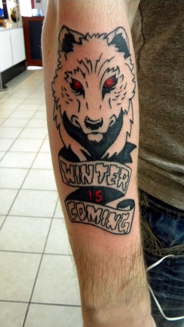 Fanciful Valar Morghulis Tattoo Designs (2)