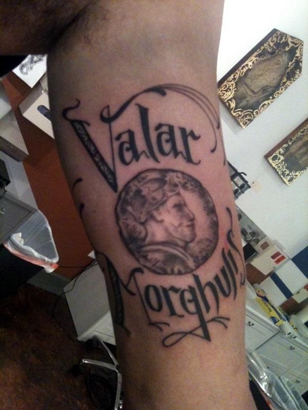 Fanciful Valar Morghulis Tattoo Designs (25)