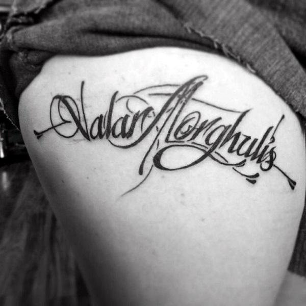 Fanciful Valar Morghulis Tattoo Designs (4)
