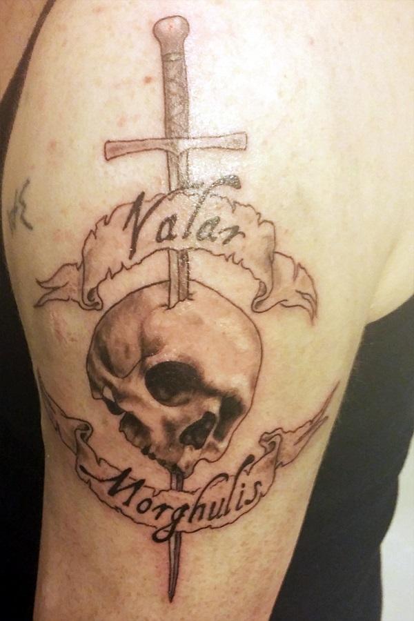 Fanciful Valar Morghulis Tattoo Designs (7)