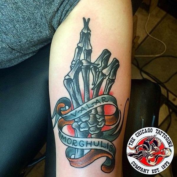 Fanciful Valar Morghulis Tattoo Designs (9)