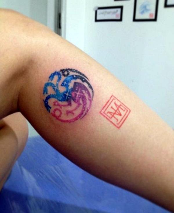 Fantastic Game Of Thrones Tattoo Designs (17)