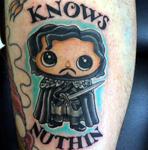 Fantastic Game Of Thrones Tattoo Designs (2)