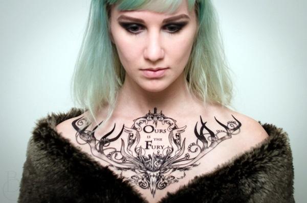 Fantastic Game Of Thrones Tattoo Designs (9)