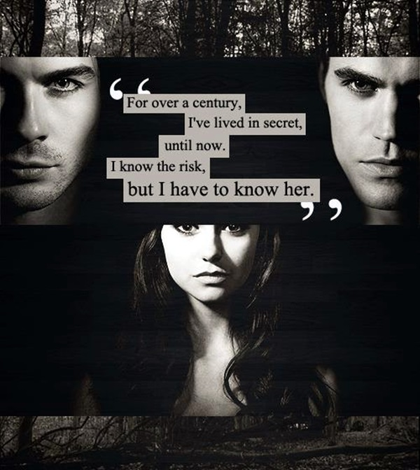 Fantastic Vampire Diaries Quotes (14)