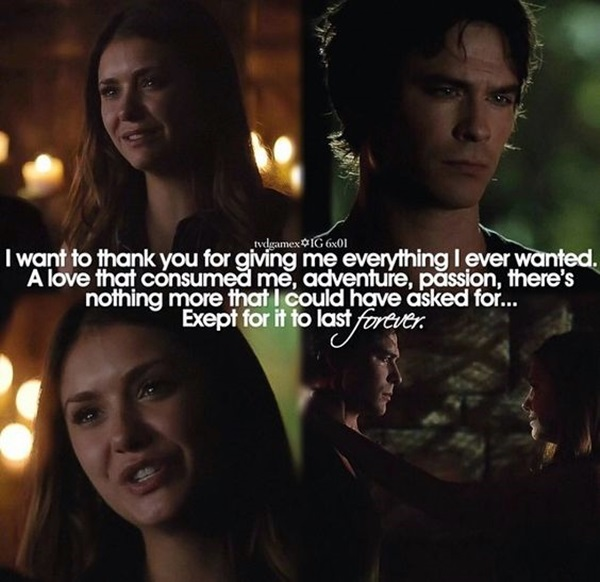 Fantastic Vampire Diaries Quotes (24)