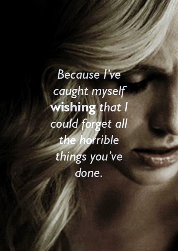 Fantastic Vampire Diaries Quotes (30)